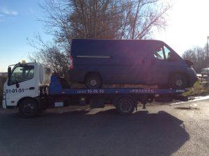 Эвакуатор в Рязани для микроавтобуса