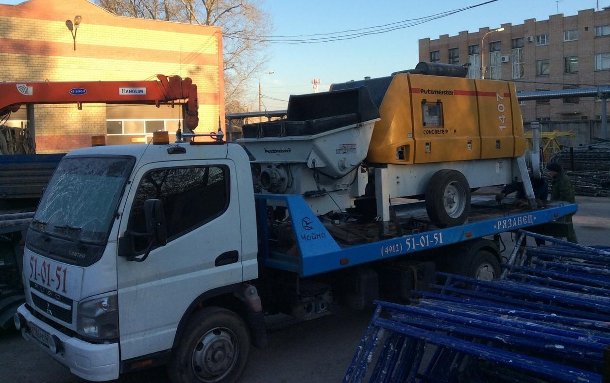 Эвакуация спецтехники в Рязани